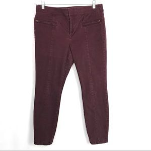 4/25 LOFT Outlet Modern Skinny Ankle Pants Sz 12P